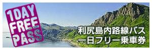 利尻島内路線バス1day乗車券